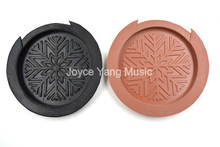 цены Flower Screeching Halt Acoustic Guitar Sound Hole Cover Rubber Block Stop Plug For 41''/42'' Acoustic Guitar Free Shipping