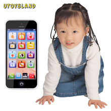UTOYSLAND Touch Screen Multi-Functional Toy-phone 5S English Learning Playmobil With Dazzle Colored Light Kid Children's Toys