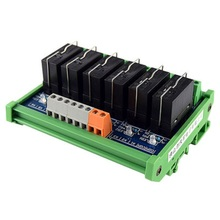 Original Omron Relay Module, 6-way 1NO+1NC 24v Electromagnetic