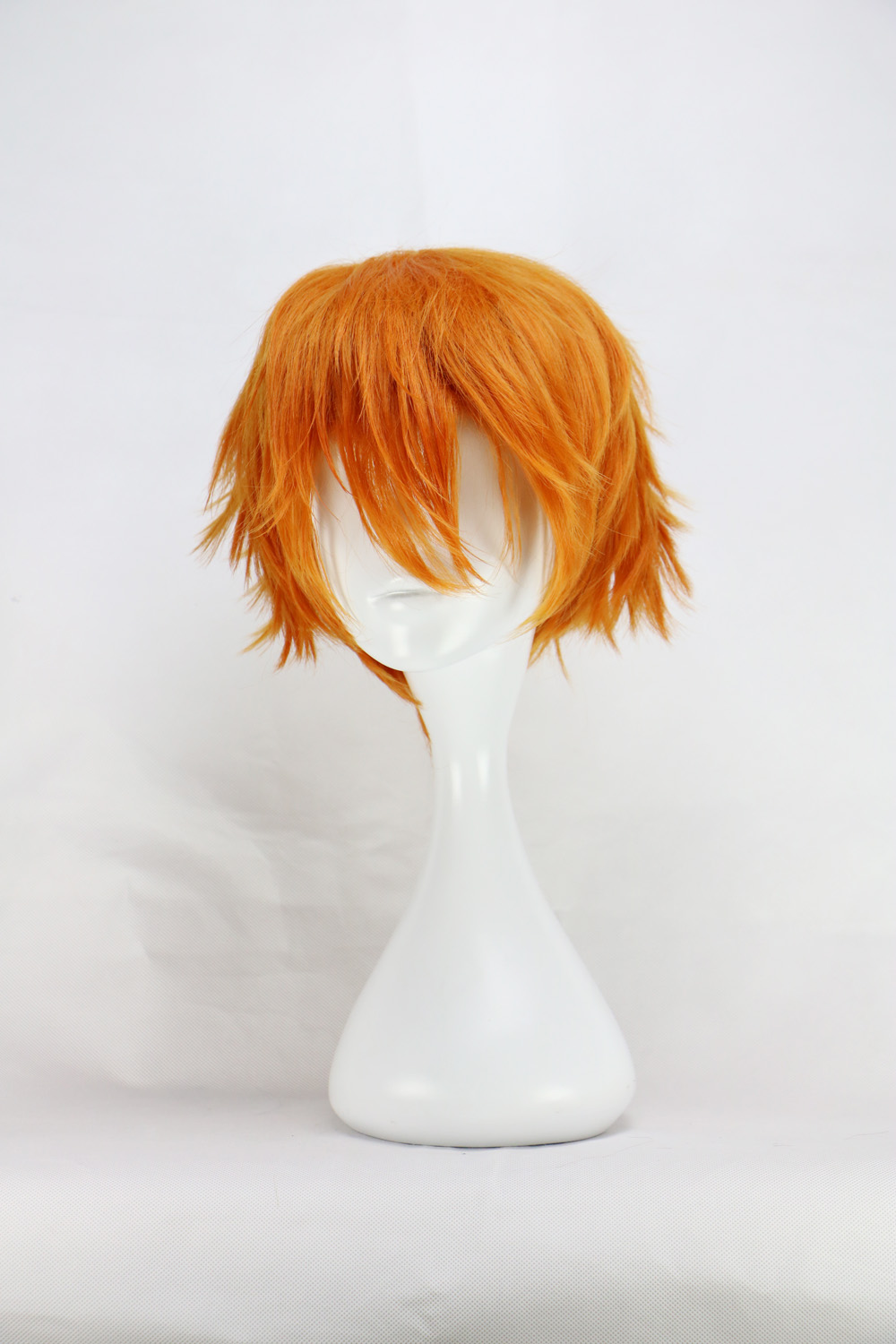 White Anime Boy Wig 40