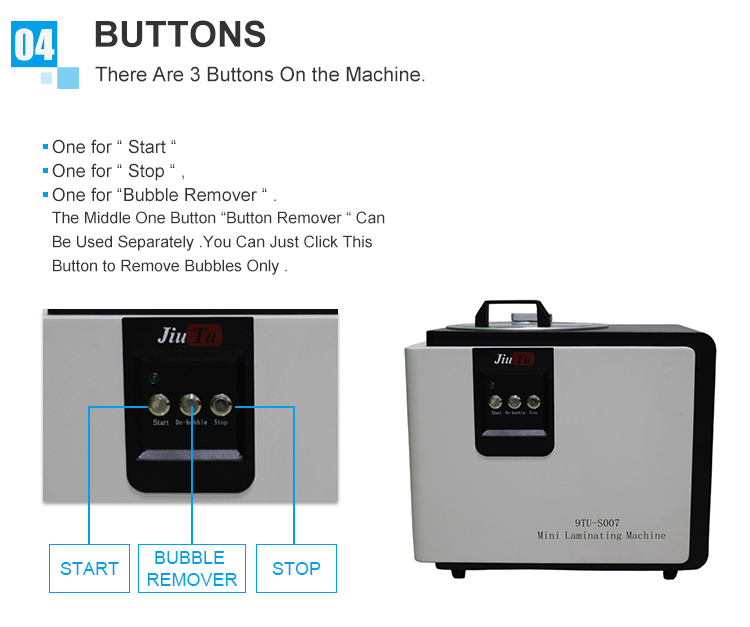 9TU-S007 LCD Touch Screen Repair Automatic Bubble Removing Machine (1)