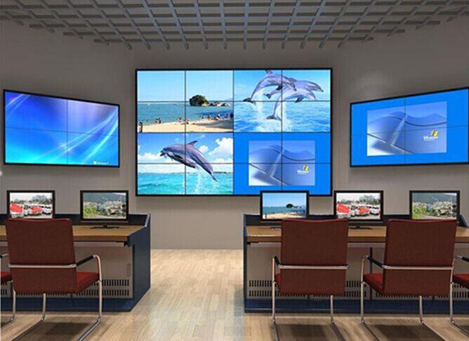 46 дюймов ЖК дисплей видеостена Видеонаблюдение CCTV ЖК hd монитор дисплей визуальный Презентер