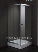 2016 Guaranteed 100% simple shower door 6mm toughened glass shower room antique shower enclosure