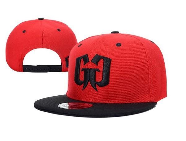 Free Shipping red and black Street Swagg Logo Snapbak light blue baseball cap football hat fashion sun visor cap