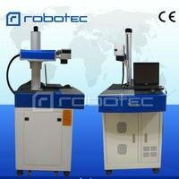 The wholesale price distributor portable CNC fiber laser marking machine for measuring tool plastic bottle
