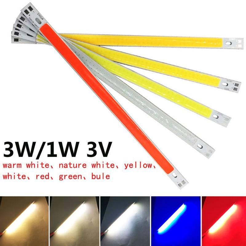 3W/1W 3V COB Chip Light LED Panel Strip Eco-Friendly DIY Spotlight 60x8mm 300LM Floor Lights Source