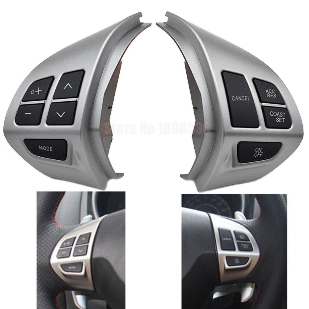 Régulateur de vitesse bouton de commutation bouton de volant multifonction interrupteur de régulateur de vitesse pour Peugeot 4007 2007
