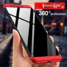 WeeYRN чехол телефон чехлы на для Huawei Honor 9 lite(Хуавей Хонор 9 Лайт) корпус Роскошный Пластик 360 полный жесткий Защитная задняя крышка для Huawei Honor 9 lite чехол книжка