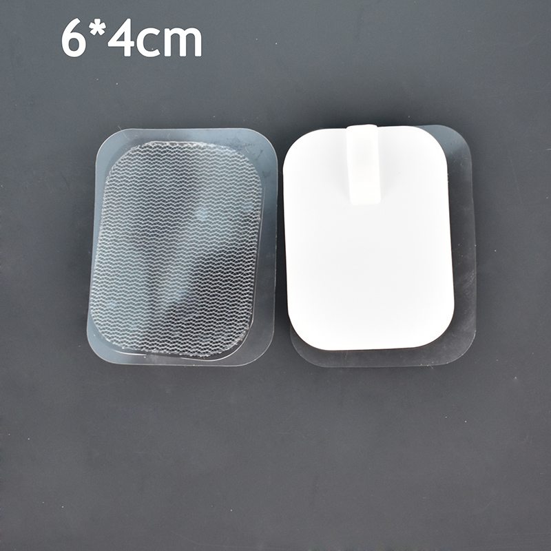 10 teile/los 6*4cm Austauschbare Zehn Elektrode Pads/Massager Patch Für Nerve Muscle Stimulator Digitale Therapie Massage maschine