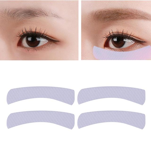 100pcs Paper Patches Eyelash Shields Perm Curler Curling False Fake Eyelashes Extention Under Eye Pads Tips White Sticker Wraps 1