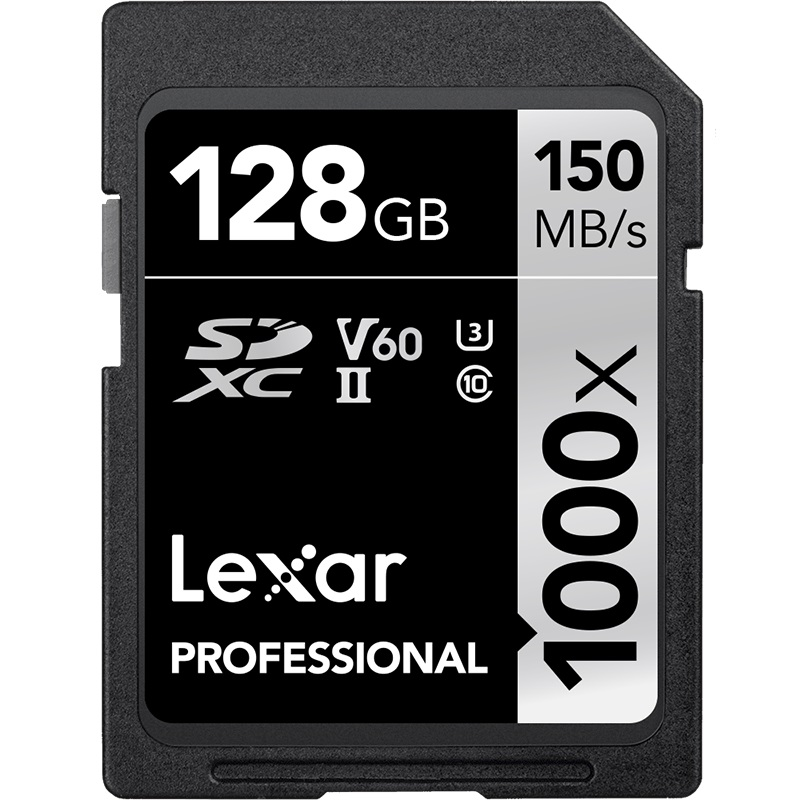 Ursprüngliche Lexar 150 MB/S Class10 32 gb SD Speicher Karte 1000x UHS-II U3 SDHC 64 GB 128 GB 256 GB speicher Karte für 3D 4 K Digital Kamera