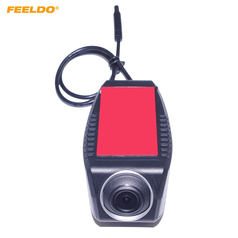 FEELDO 720P HD Car Front USB Digital Video Recorder DVR Camera For Car Android 4.2/4.4/5.1/6.0 DVD Player GPS Navigator #FD4173