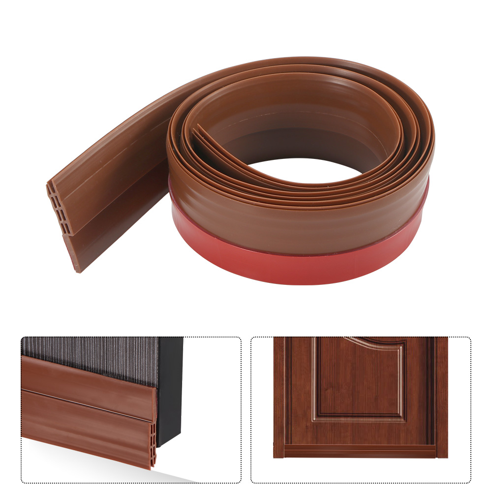 Back To Search Resultshome Improvement Hardware Self Adhesive Silicone Bottom Door Window Tape 3m Rubber Sealing Strip Weatherstriping Sound Insulation Tape