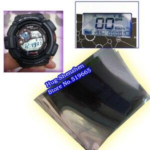 10 дюймов универсальная жидкокристаллическая поляризационная пленка 150 мм * 180 мм ЖК-поляризационная пленка для электронных часов батарея Пр...