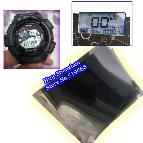 10inch Universal Liquid Crystal Polarizing Film 150MM*180MM LCD Polarize Film For Electronic Watch Battery Car Dashboard Screen