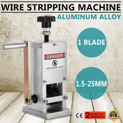 Russia Free Shipping ! Powered Electric Wire Stripping Metal Cable Stripper Machine Copper Scrap