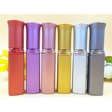 Portable Perfume Bottle 6ml Refillable Travel Vivals Fragrance Scented Atomiser Spray Atomizer Bottle Women Favors DC759