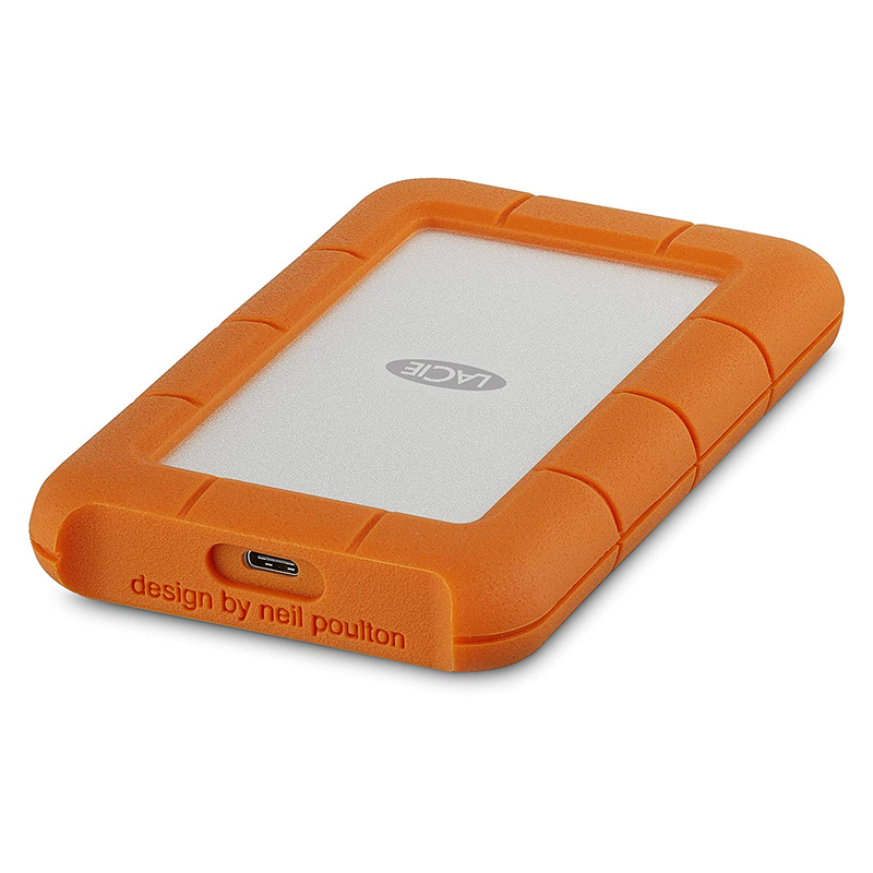 """Seagate Lacie Rugged 1TB 2TB 4TB 5TB USB C And USB 3.0  Portable Hard Drive 2.5"""" External HDD For PC Laptop"""