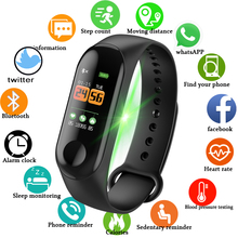 2019 LIGE New Smart Bracelet Watch Heart Rate Blood Pressure Monitor Fitness Tracker Activity Sport Band