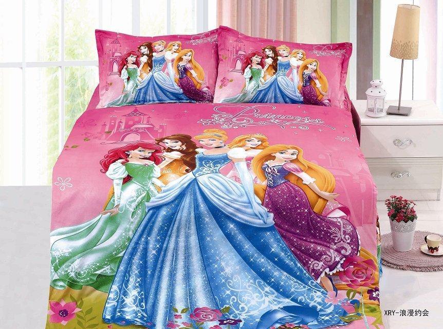 Ropa de Cama Funda Nórdica Hoja del Lecho de la princesa dormitorio textiles par