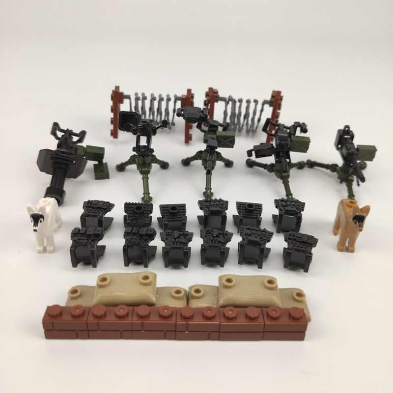 """Военные городские Солдатики """"Special Forces"""", кирпичи, фигурки-пистолеты, оружие, оружие, спецназ, строительные блоки Ww2, игрушки, совместимые военные города"""