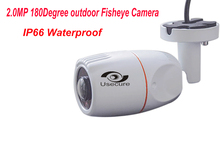 2.0MP AHD 180 degree Wide Angle Outdoor Water house cameras