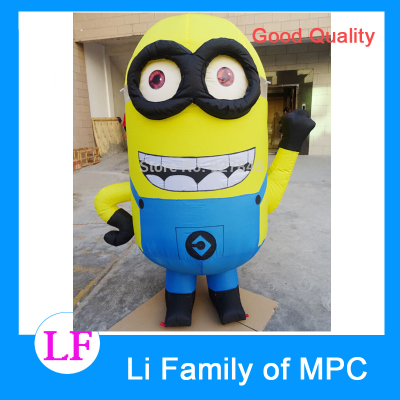 2 M Advertising Figure Despicable Me Advertising Inflatable Minion despicable me unicorn minion stuffed