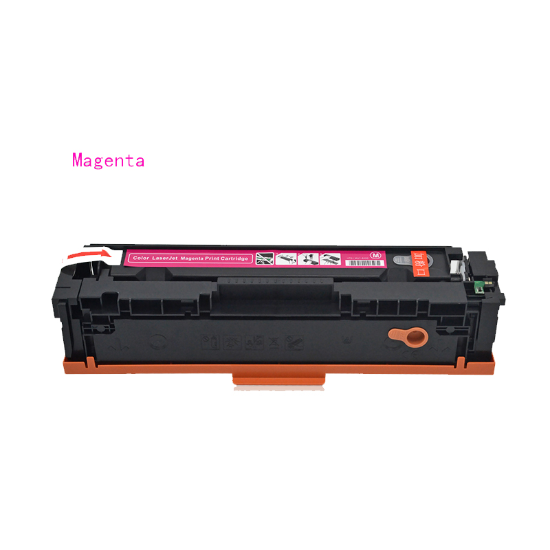 For HP CF502A Magenta CF502 For HP202A CF202A Toner Cartridge Compatible HP M254nw M254dw M280nw M281fdw