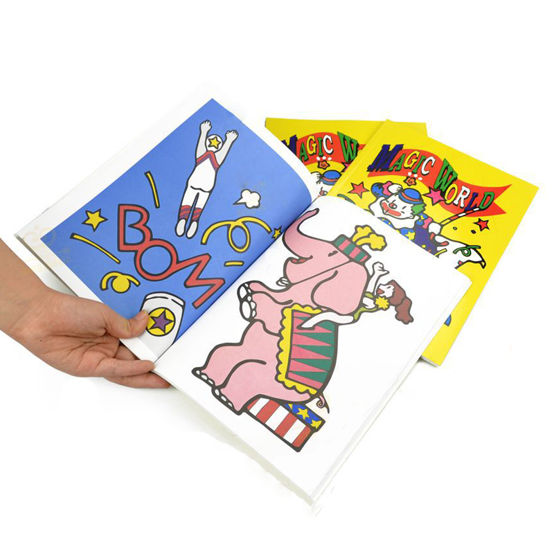 magic cartoon coloring book magic trick medium large size magic tricks best for children - Coloring Book Magic Trick