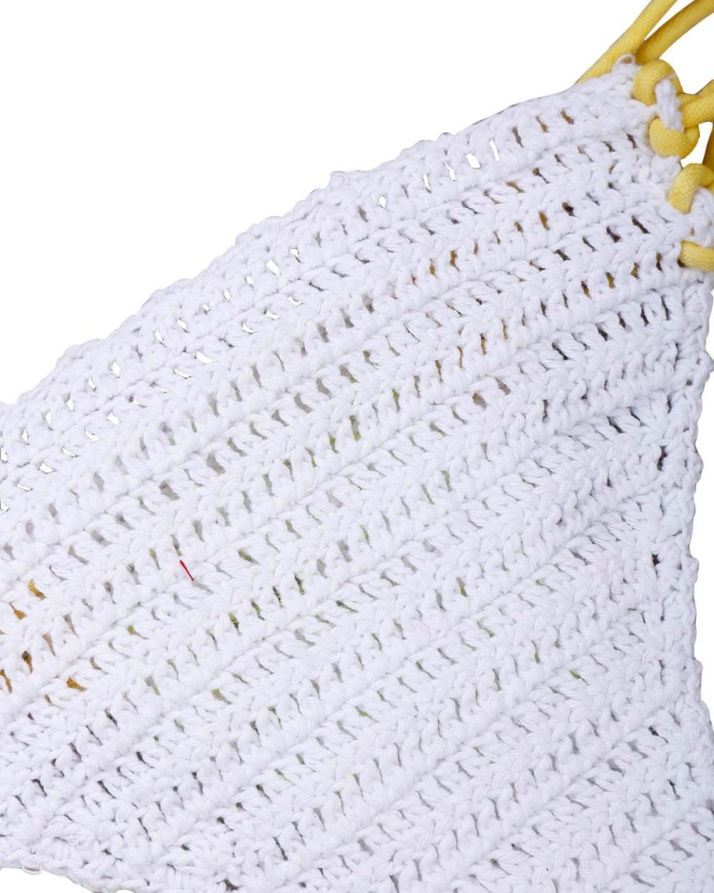 ᗚNueva sexy Crystal floral pierna bikini ganchillo bikini ...