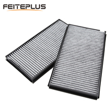 2x Cabin Charcoal Air Filter Carbon For BMW 5 Series E60 E63 E64 M5 M6 With Activated Charcoal 64319171858