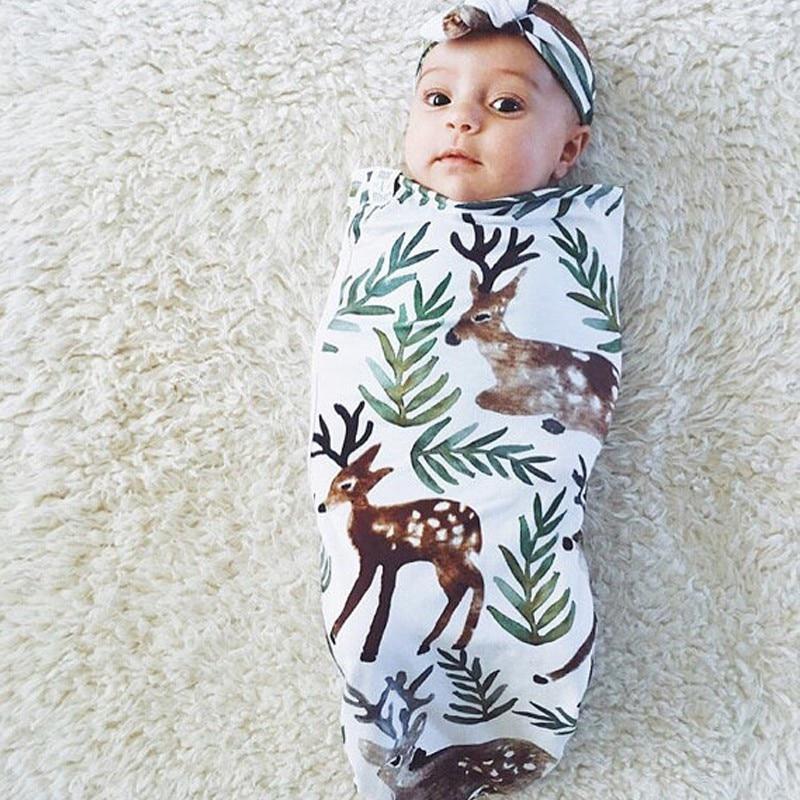 Newborn Baby Diapers Swaddle Organic Cotton Sleeping Clothing Accessories Wrap Envelope Swaddling Swaddle Sleep bag Sleepsack