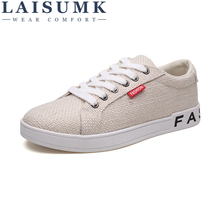 LAISUMK Spring Men Linen Loafers Shoes Mens Casual Male Breathable Business Shoe Zapatillas Hombre Tufli Gumshoes Mocassin