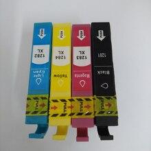 T1281-T1284 Картриджи с чернилами полным чернила для Epson Стилусы SX125 SX130 SX230 SX235W SX420W SX430W SX425W SX435W S22 принтера