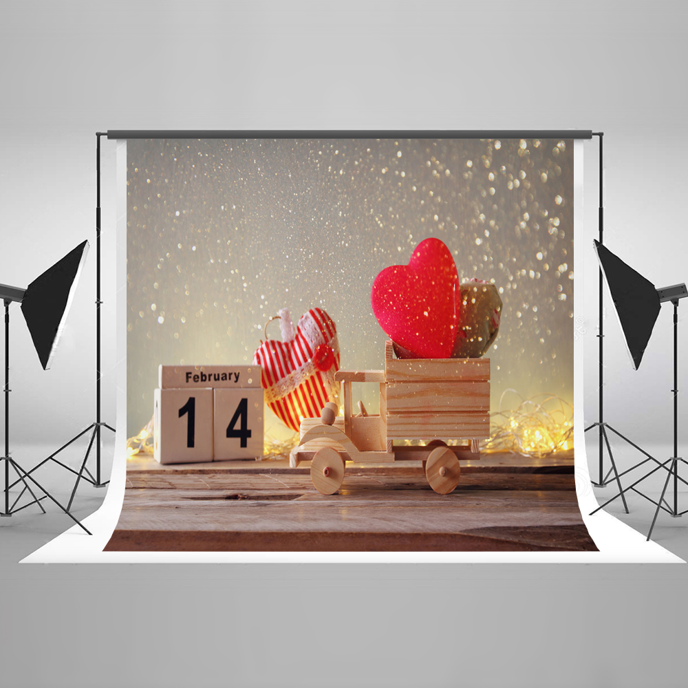 Kate 10ft Valentine'S Day Photo Background Photography Backdrop Wood Car Photography Backdrop Children Prop Studio Background kate 10ft photo background naturism children photos flores wedding backdrops oil painting garden backdrop kids blue sea backdrop
