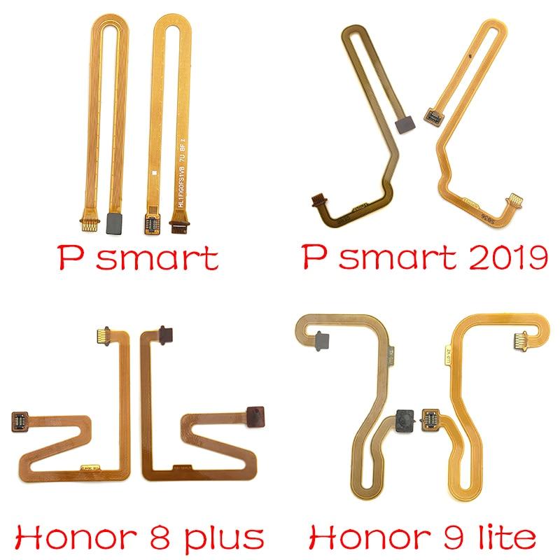 For Huawei P20 P10 Honor 8 9 Mate 10 20 Lite 7x 8x Y9 2018 P Smart 2019 Fingerprint Reader Sensor Touch ID Connector Flex