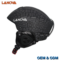 LANOVA Brand Ski Helmet EN 1077 Standard Adult Men And Women Size 55 61CM