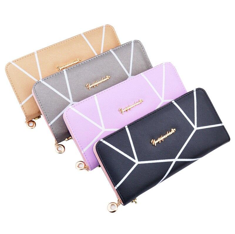 handväskor kvinnor plånböcker korthållare långt varumärke - Plånböcker - Foto 2