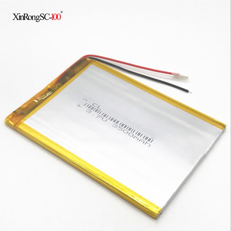 Universal inner 3500mah 3.7V Battery Pack For 7 inch tablet computer U25GT 357090 Suo Lixin S18 Replacement цены