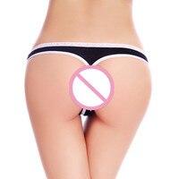 M L XL Women Cotton Sexy G String Fashion Lace Panties Women's Thongs Briefs Low Waist Underwear
