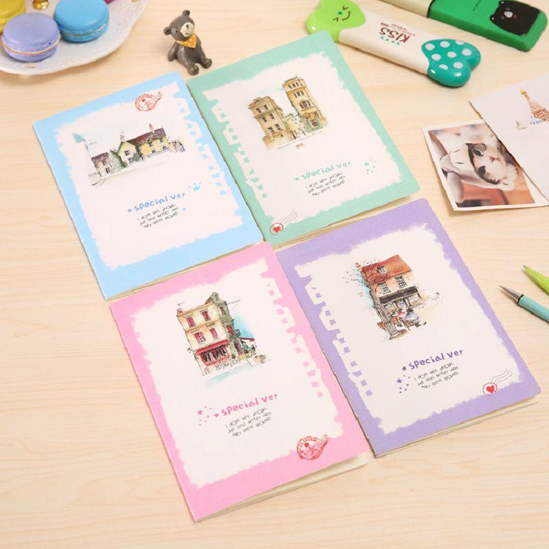 agenda sketchbook diary girl caderno kawaii school supplies journal