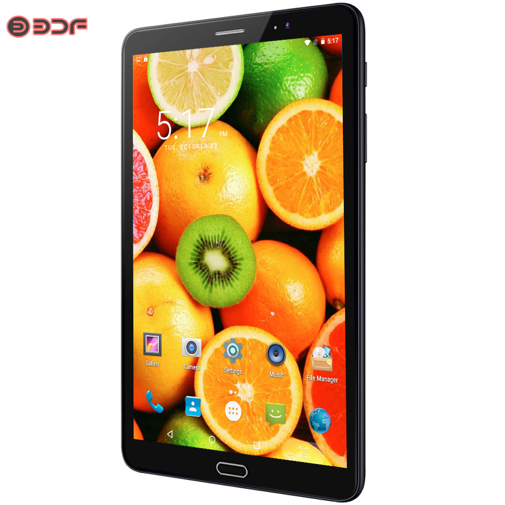 8 Inch Android 6.0 Tablet Pc 3G SIM Card Phone Call 1280*800 IPS 2.5D Screen 1GB+32GB Tablets