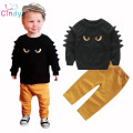 Autumn Winter Baby Boy Cute Clothing 2017 2pc Pullover Sweatshirt Top + Pant Clothes Set Baby Toddler Boy Outfit Suit