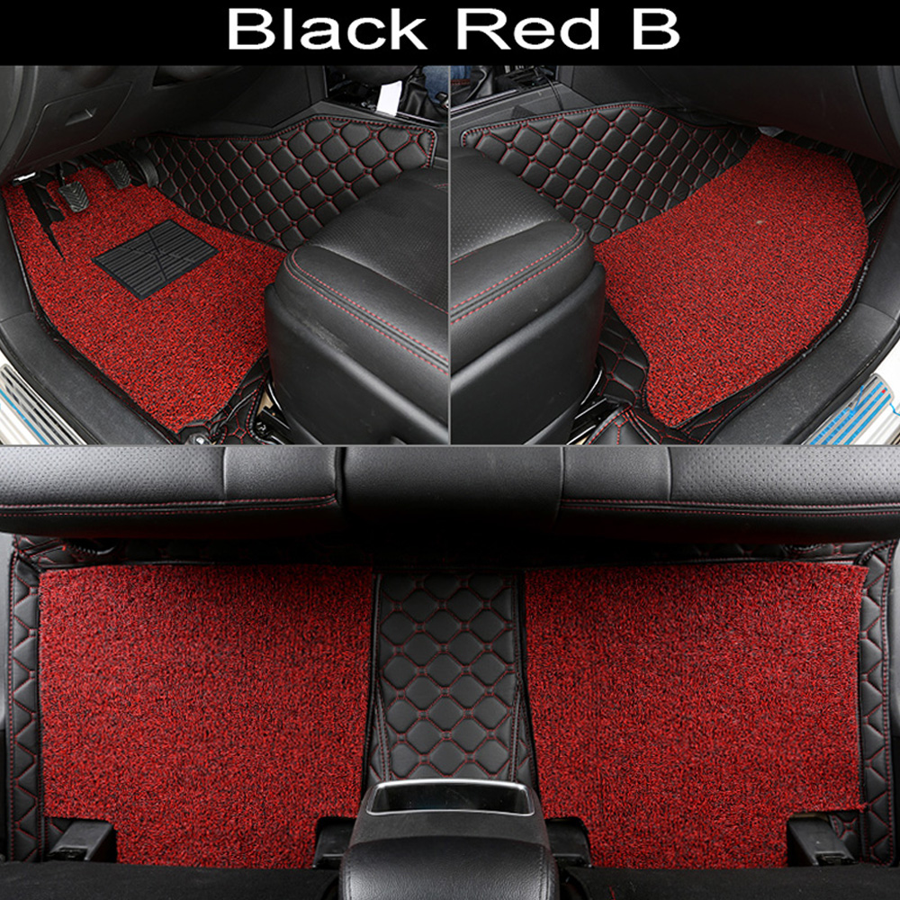 Car floor mats for Audi Q3 Q5 Q7 A4 A6 A7 A8 8l 5D heavy duty all weather car styling rugs carpet floor linersCar floor mats for Audi Q3 Q5 Q7 A4 A6 A7 A8 8l 5D heavy duty all weather car styling rugs carpet floor liners