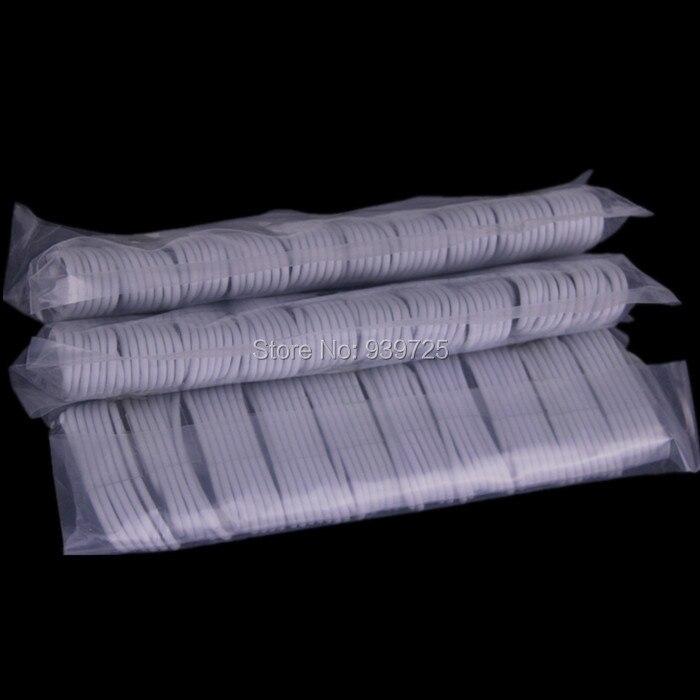 imágenes para 500 unids/lote 1 M LOS 3FT 8pin cable de Color Blanco Paquetes de Accesorios para iphone 5 5S 6 6 s para ios 9 El Envío libre