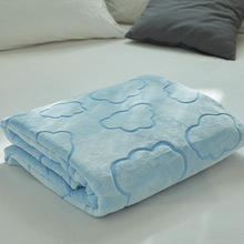 soft weighted Rasche blanket for bed winter office sofa throw solid hotel travel blankets adult Bedspread quilt