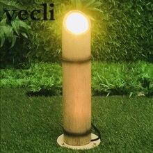 Creative Imitation bamboo lawn light garden park landscape lamp waterproof balcony lightin 35cm DC24V 3W