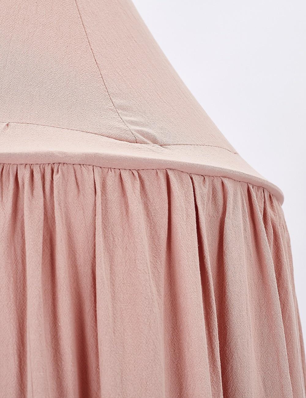 Детская кровать сетка занавес Детская комната украшения кроватки плетения детские палатки хлопок висел купол Детские Москитная сетка рекв...