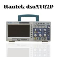 Hantek Dso5102p האחסון הדיגיטלי אוסצילוסקופ 100 mhz 2 ערוצים 1gsa/s 7 Tft Lcd טוב יותר מאשר Ads1102cal +