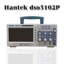 Hantek dso5102p التخزين الرقمية راسم 100 ميجا هرتز 2 القنوات 1gsa/s 7 بوصة tft lcd أفضل من ads1102cal +